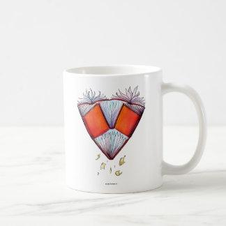Book Heart Coffee Mug