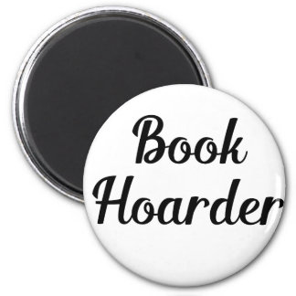 Book Hoarder Magnet