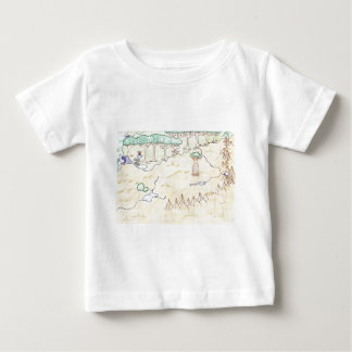 Book I Map Baby T-Shirt