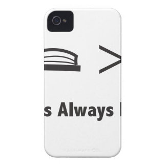 Book is Greater iPhone 4 Cover