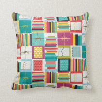 book joy throw pillow