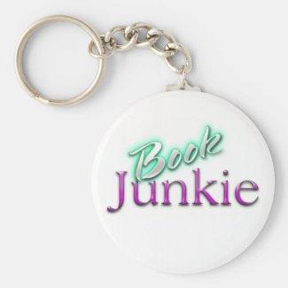 Book Junkie Keychain