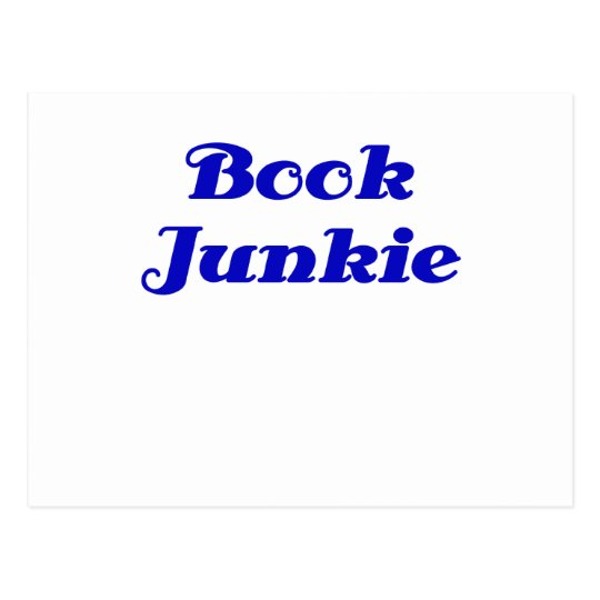 Book Junkie Postcard