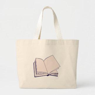 Book Large Tote Bag
