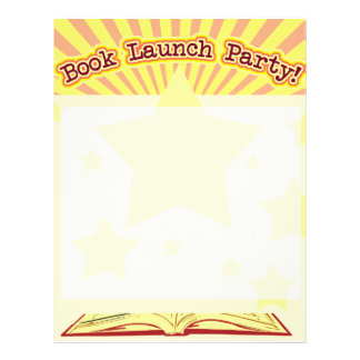 Book Launch Party Flyer