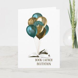 Book Launch Party Invitation