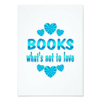 BOOK LOVE INVITATION