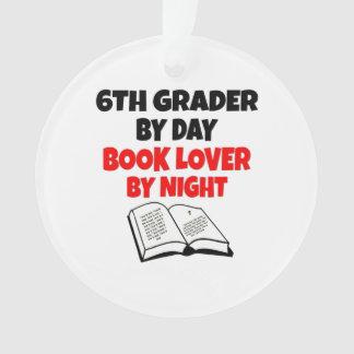 Book Lover 6th Grader Ornament