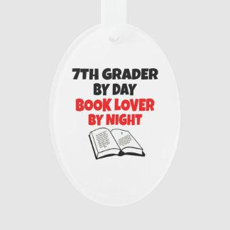 Book Lover 7th Grader Ornament