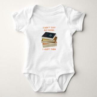 book lover baby bodysuit