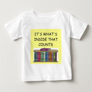 BOOK lover Baby T-Shirt