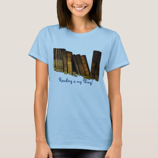 Book-Lover Back To School Student Old Book Design T-Shirt