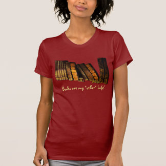 Book-Lover Back To School Student Old Book Design Tees