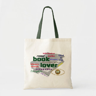 Book Lover Budget Tote Bag