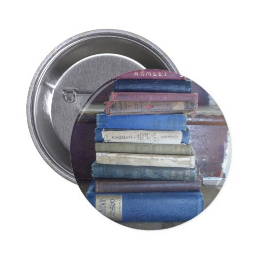 book lover buttons