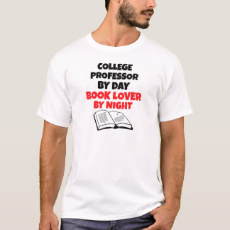 Book Lover College Professor T-Shirt