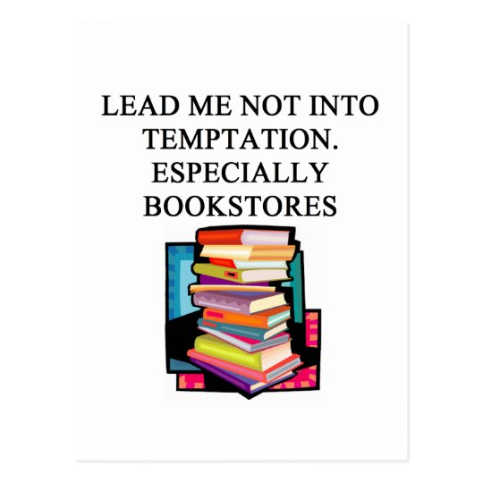 BOOK lover design Postcard