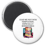 BOOK lover design Refrigerator Magnets
