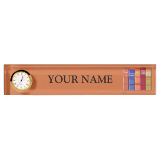 Book Lover Desk Nameplate