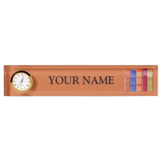 Book Lover Desk Nameplate