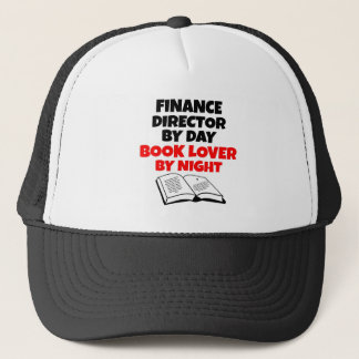 Book Lover Finance Director Trucker Hat