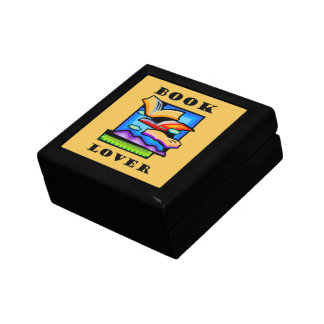 """""""Book Lover"""" - Flying books & pages for reading Gift Box"""