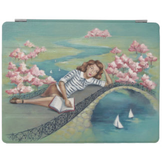 Book Lover Girl iPad Smart Cover