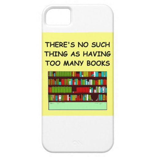 book lover iPhone 5 case