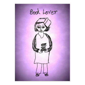 Book Lover Large Business Card