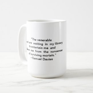 Book Lover Library Quote Mug