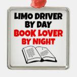 Book Lover Limo Driver Ornament