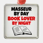 Book Lover Masseur Christmas Ornament