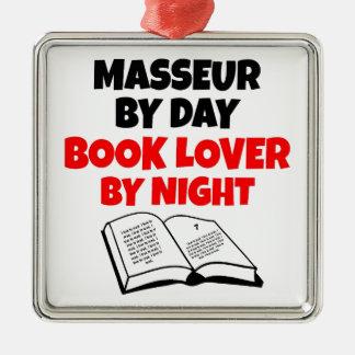 Book Lover Masseur Metal Ornament