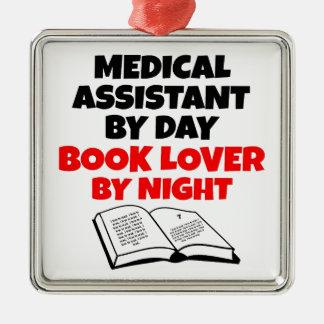 Book Lover Medical Assistant Metal Ornament