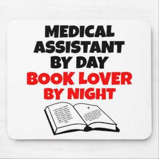 Book Lover Medical Assistant Mouse Pad