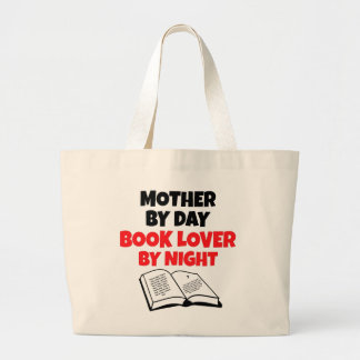 Book Lover Mother Canvas Bags