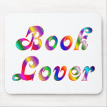 Book Lover Mouse Mat