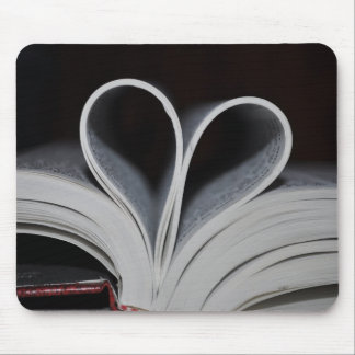 Book Lover Mouse Pad