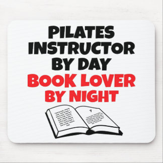 Book Lover Pilates Instructor Mouse Pad