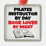 Book Lover Pilates Instructor Ornaments