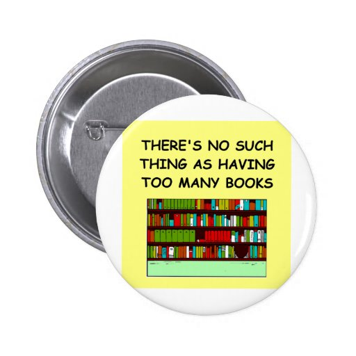 book lover pin