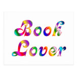 Book Lover Post Card