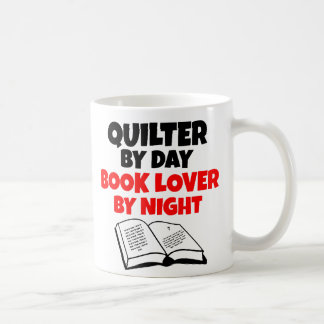 Book Lover Quilter Coffee Mug