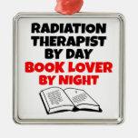 Book Lover Radiation Therapist Ornaments