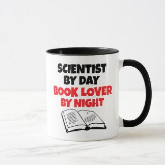 Book Lover Scientist Mug