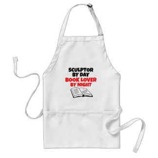 Book Lover Sculptor Adult Apron