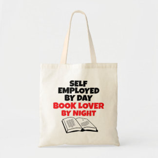 Book Lover Self Employed Tote Bag