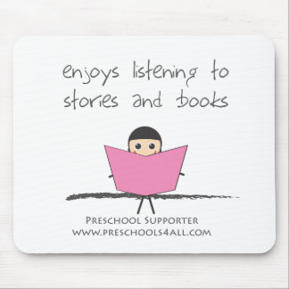 Book Lover - Single Mouse Pad