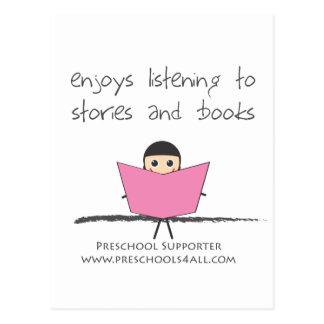 Book Lover - Single Postcards