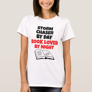 Book Lover Storm Chaser T-Shirt